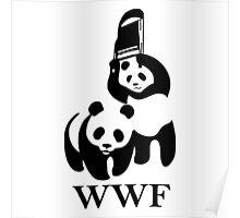 WWF parody Poster