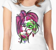 Colorful by WhimsicalColorfulYou Women's Fitted Scoop T-Shirt