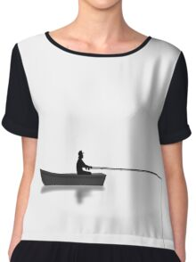 Fishing - Boating Chiffon Top