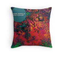 tame impala artwork Throw Pillow