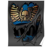 Ultramarines Armor Poster