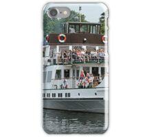 """Teal"" pleasure boat iPhone Case/Skin"