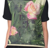 Faded roses Chiffon Top