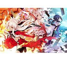 Fate/kaleid liner Prisma Illya Miyu Photographic Print