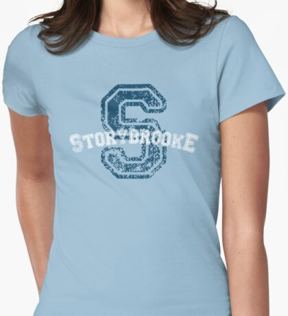 Storybrooke - Blue Womens Fitted T-Shirt