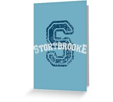 Storybrooke - Blue Greeting Card