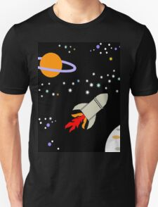 Rocket Ride Unisex T-Shirt