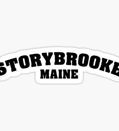 Once Upon a Time - Storybooke, Maine Sticker