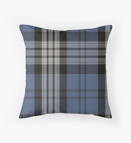 00429 Anderson Blue Tartan  Throw Pillow