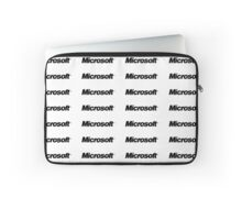 Microsoft Name Logo Laptop Sleeve