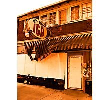 """""""Before the Days of the Big Box Stores""""... prints and products Photographic Print"""