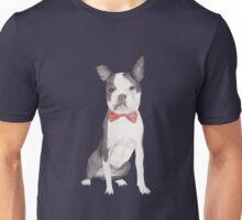 Leo the Boston Terrier Unisex T-Shirt