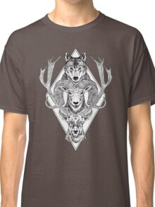Wolf Ram Hart Classic T-Shirt