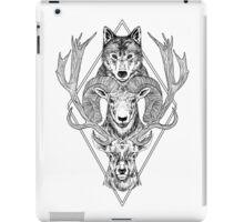 Wolf Ram Hart iPad Case/Skin