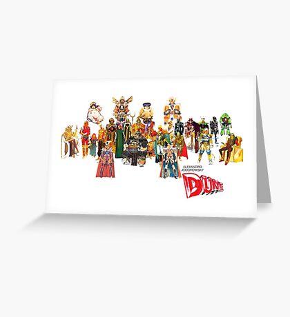 Jodorowsky´s Dune Greeting Card