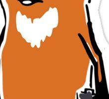 Fox Just Chillin' Sticker