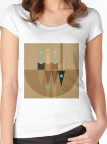 Geometric/Abstract 10 Women's Fitted Scoop T-Shirt