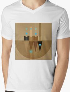 Geometric/Abstract 10 Mens V-Neck T-Shirt