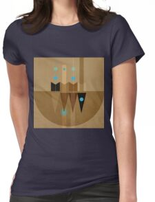Geometric/Abstract 10 Womens Fitted T-Shirt
