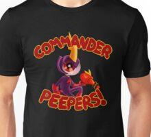 Commander Peepers v1 Unisex T-Shirt