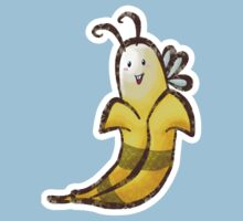 Bumble Banana T-shirt by SaradaBoru