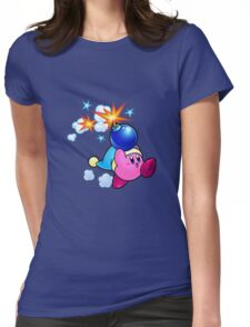 Bomber Kirby Womens Fitted T-Shirt