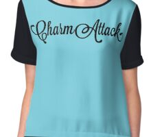 Josh Dallas - Charm Attack Chiffon Top