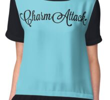 Josh Dallas - Charm Attack Chiffon Top
