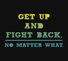 Get Up and Fight Back Kids Tee
