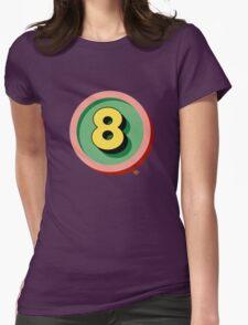 Pop No.8 Womens Fitted T-Shirt