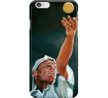 Lleyton Hewitt painting iPhone Case/Skin