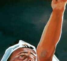 Lleyton Hewitt painting Sticker
