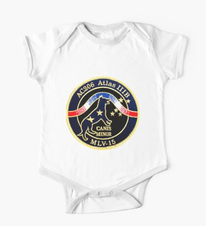 NROL-23 Canis Minor Crest One Piece - Short Sleeve