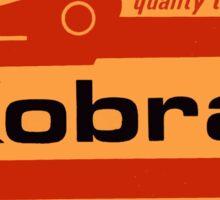 Vintage Kobra Tools Decal Sticker