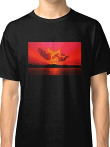 Earth Sunset Painting Classic T-Shirt