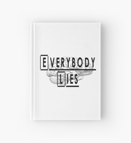 Dr. House quote Hardcover Journal