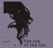 The eye of the Cat Kids Tee