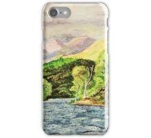 """""""Lake, Trees & Mountains"""" iPhone Case/Skin"""