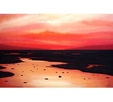 Earth Swamp Painting Photographic Print