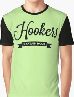 Once Upon a Time - Hookers - Captain Hook Graphic T-Shirt