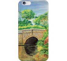 """Nunnington Bridge, North Yorkshire"" iPhone Case/Skin"