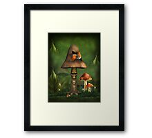 Vogelnest Framed Print