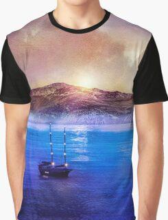 Blue/purple, trip Graphic T-Shirt