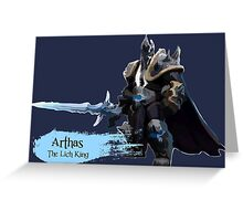 The Lich King Greeting Card