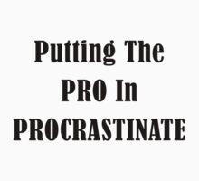 Procrastinate Kids Tee
