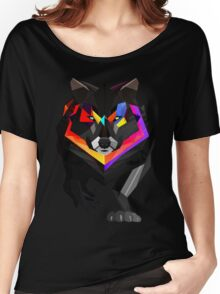 Colored wolf Women's Relaxed Fit T-Shirt
