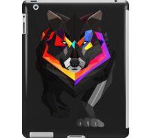 Colored wolf iPad Case/Skin