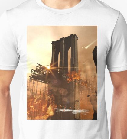 Th apocalypse in the city Unisex T-Shirt