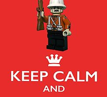Keep Calm and Carry On by TimConstable