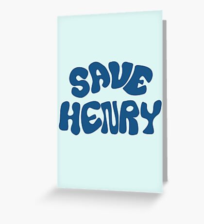 Once Upon a Time - Save Henry Greeting Card